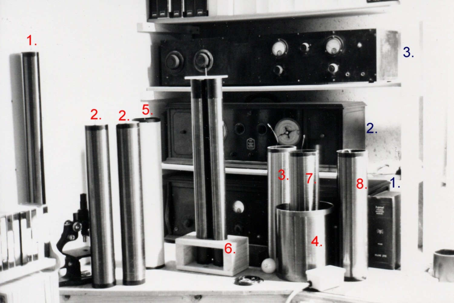 1989 miscellaneous Tesla coil resonators