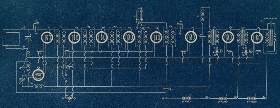 Magnaformer 9-8 schematic PR October 1927