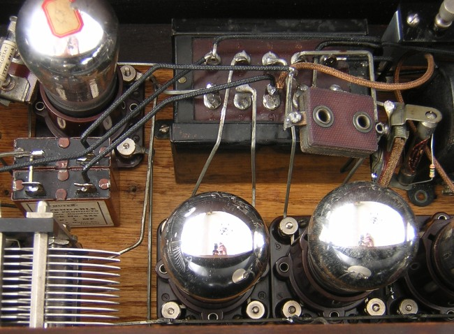 Silver Marshall 1st Generation IF amplifier