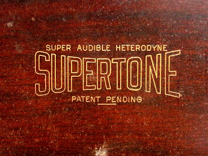 Supertone Front Panel Engraving